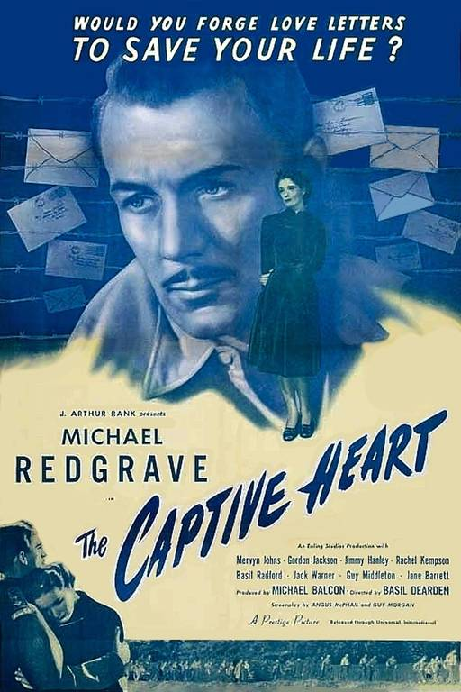 Filmplakat The Captive Heart (Quelle: https://alchetron.com/The-Captive-Heart-16078-W#-)